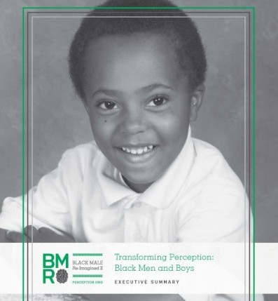 Cover page for Transforming Perception: Black Men and Boys
