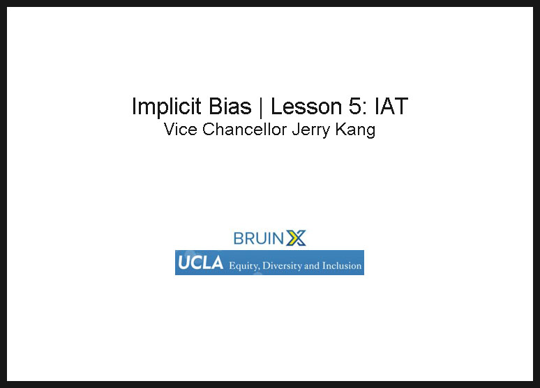 Screenshot of Implicit Bias Lesson 5