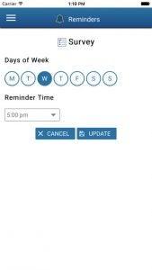 Screenshot reminders