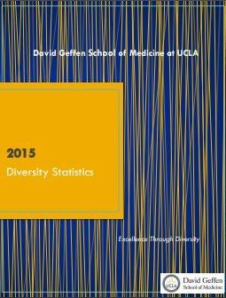 UCLA School of Medicine Diversity Statistics (2009-2010 to 2015-2016)